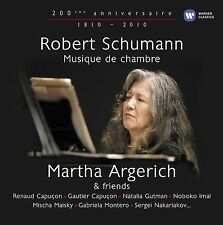 ROBERT SCHUMANN  :  MUSIQUE DE CHAMBRE  - MARTHA ARGERICH & FRIENDS     ----  CD