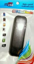 black ALL IN ONE USB 2.0 micro sd portable t-flash memory card reader LOT x 5