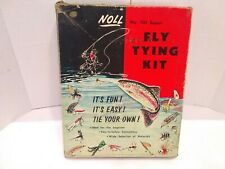 FLY TYING VINTAGE NOLL  KIT NO #101