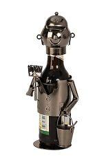 EXTRAVAGANTES Sostenedor de botella de cerveza PINTOR DE METAL altura 23cm