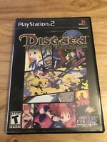 Disgaea: Hour of Darkness (PlayStation 2, PS2) Complete with Manual Black Label
