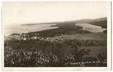 Copper Harbor Michigan MICH MI ~ Panoramic View RPPC Real Photo Postcard 1930's