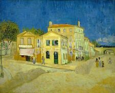"VAN GOGH VINCENT-THE YELLOW HOUSE(THE STREET)1888-ART PRINT POSTER 11""X14""(1762)"