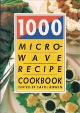 1000 Microwave Recipe Cook Book-Carol Bowen