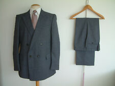 """1970's HARRY FENTON DOUBLE BREASTED SUIT..42"""" x 36""""..GREAT CONDITION..GOODWOOD"""