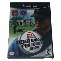 Tiger Woods PGA Tour 2003 (Nintendo GameCube, 2002) Complete w/Manual Tested