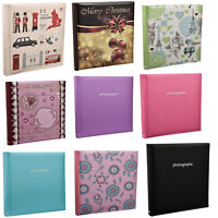 Large 5 x 7 Slip In Case Book bound Memo Photo Album For 120 Holds Choose Design