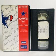 The New Dallas Cowboys Christmas 1986 Music Video VHS Cheerleaders NFL