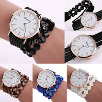 Fashion Women Crystal Diamond Quartz Bracelet Dial Ladies Dress Wrist Watch Gift