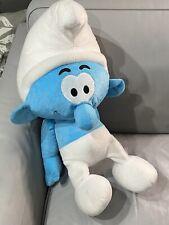 Extra Large The Smurfs Stuffed Animal Plush 30 Inch Cartoon Toy  Smurf Vintage
