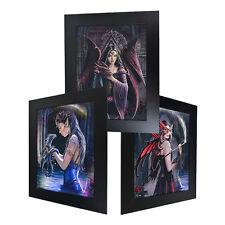 3 Dimension 3D Lenticular Picture Fantasy Dragon Fairy Witch Dark Magic Dungeon