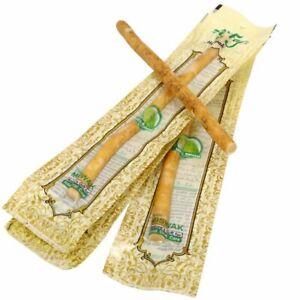Miswak Sticks Natural Herbal Toothbrush (Brown,compact head) - Set of 5 Sticks