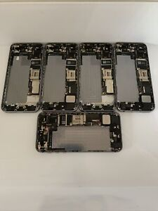 Faulty batch of 5x Apple iPhone 5s Housing /  Chassis - 16GB - Grey (4490)
