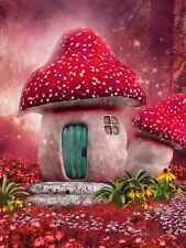 Wall Mural Children Fairy Forest House Repositionable Vinyl Interior Art Decor