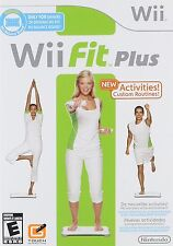 Wii Fit Plus [Nintendo Wii, NTSC, Software Only, Fitness Training, Health] NEW