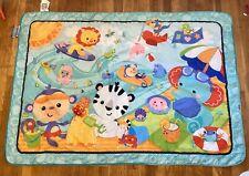 Fisher Price Baby's Adorable Cartoon Ocean Beach Design Jumbo Play Mat