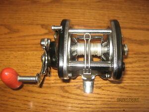 Vintage Herter's Model 12 USA Fishing Trolling Casting reel Works Great CLEAN