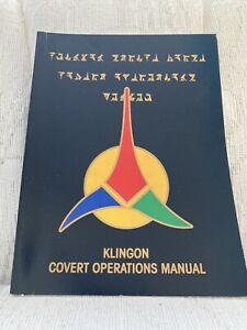 Star Trek Klingon Covert Operations Manual FASA RPG
