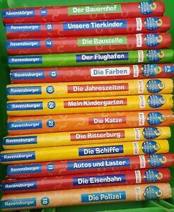 13 Stk. Wieso Weshalb Warum Junior Bücher, erstes Wissen, Sammlung, Paket