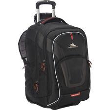 High Sierra AT7 Wheeled Computer Backpack - Black Rolling Backpack NEW