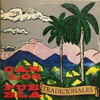 Carlos Puebla Tradicionales Musica Criolla Bolero Cuba Latin Egrem Areito lp