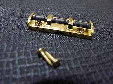 Pro Quality 43mm Solid Body Guitar Roller Nut Golden F Plus Strat / Telecaster