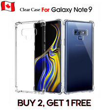 Clear Bumper Transparent Soft Protect Case Cover FOR SAMSUNG GALAXY NOTE 9