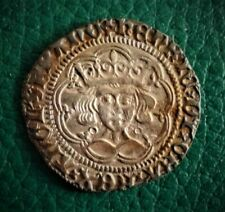 More details for henry vi groat about as struck and very rare as such. spink 1854?