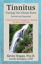 Tinnitus: Turning the Volume Down, Good Condition Book, Battaglino, Jennifer, Ho