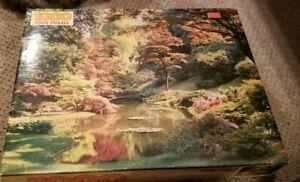 Vintage Golden Guilds 1000 Piece Jigsaw Puzzle Japanese Floral  Garden New