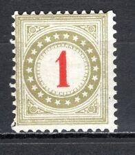 Switzerland - 1907 Postage Due -  Mi. 23 (watermarked) MH