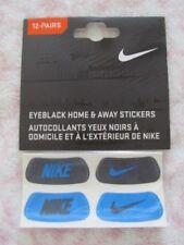 Nike Swoosh Eyeblack Home & Away Stickers Black/Varsity Blue 12 Pairs
