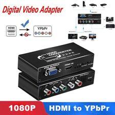 1 Kit High Quality HDMI to YPbPr Scaler HDMI to RGB VGA 5RCA Component Converter