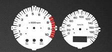 HONDA x4 Tachimetro Tachimetro cb1300 sc38 CB 1300 Gauge quadranti Disk PLATE