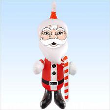 Aufblasbarer Weihnachtsmann ca 120 cm Santa Claus Weihnachtsdeko Weihnachten