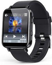 Agptek 16Gb Hi-Fi Lossless Sound Mp3 Player Bluetooth 5.0 Smart Wrist Watch Band