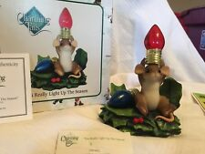 """Charming Tails """"You Really Light Up The Season"""" Dean Griff Nib"""