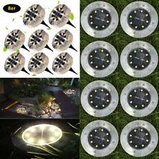 LED Solarlampe Bodenstrahler Garten Solarleuchte Bodeneinbau Außen-Beleuchtung