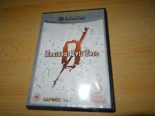 Resident Evil Zero Nintendo Gamecube UK Pal Version