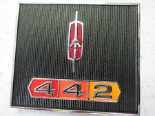 66 67 Cutlass Supreme F85 Deluxe dash emblem plaque script