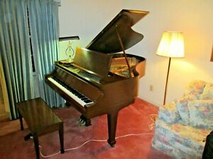 Antique Mehlin Parler Grand Piano - approximately 5-ft, 8 in L for Restoration
