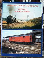 NEW - Passenger Cars of New England Volume 1 Boston & Maine B&M