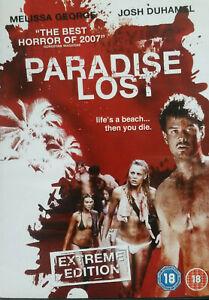 Paradise Lost DVD AKA: TURISTAS - Horror Movie Melissa George 2006 Josh Duhamel