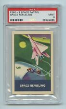 Space Refueling F280-3 1953 Space Patrol Chex = PSA 9