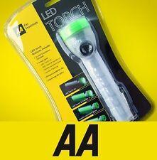 Lampe torche LED AA 4 way clignotant poignée camp lampe de poche avec clip # 725570