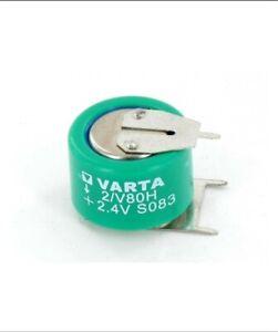 Varta RECHARGEAB -battery: Ni-MH; 2/V80H; 2.4V; 70mAh; ¨17x13.6mm  new uk