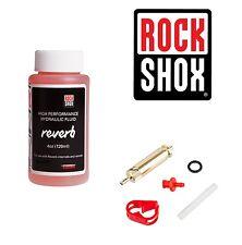 Rockshox Reverb Dropper Suspension Post Oil, 120ml & Reverb Post Bleed Tool