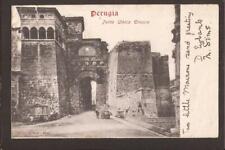 Perugia. Porta Urbica Etrusca. Perugia 1905. U/B.