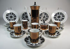 29 pc. Set Rosenthal HILTON Demitasse Coffee Set Coffee Pot, Sugar, Creamer Cups