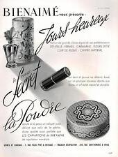▬► PUBLICITE ADVERTISING AD Rouge à lèvres Parfum poudre Bienaimé